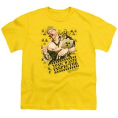 ROBOCOP/TOXIC WASTE INSPECTOR-S/S YOUTH 18/1-YELLOW