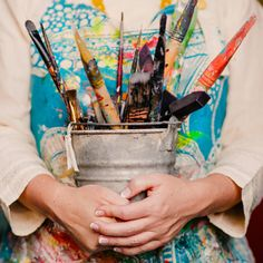 Free + Pay What You Can Painting Courses - Kelly Rae Roberts Painter Photography, Painting Courses, Artist Aesthetic, Hand Art, Artist Life, Color Of Life, Creative Photography, School Photography, Art Studios