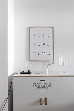 'Make it Count' Calendar 2018 Giveaway - via Coco Lapine Design blog