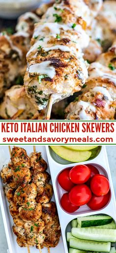 You Have Meals Poisoning More Normally Than You're Thinking That Keto Italian Chicken Skewers Are Incredibly Easy To Make, Require Only A Few Ingredients, Are Healthy And Full Of Flavor. Ideal For Lunch, Dinner And To Add To Lunch-Boxes. Potato Recipes, Soup Recipes, Keto Recipes, Healthy Recipes, Healthy Lunches, Turkey Recipes, Casserole Recipes, Pasta Recipes, Crockpot Recipes