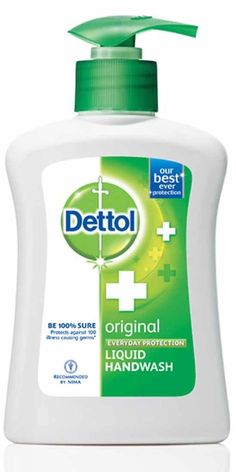 2 sold! more available Dettol Original Everyday Protection Liquid Hand Wash 135ml #Dettol