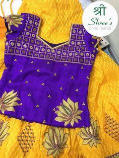 Pattu pavadai Kids Dress Wear, Kids Gown, Kids Wear, Kids Indian Wear, Kids Ethnic Wear, Baby Lehenga, Kids Lehenga, Baby Girl Dress Patterns, Baby Girl Dresses