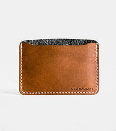 34f6082b1312b Grid_300_whiskey_large Calgary, Slim Wallet, Vegetable Tanned Leather,  Whiskey, Italian Leather, Mens