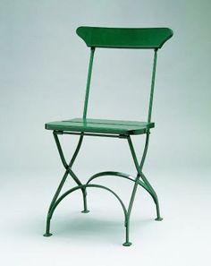 Classic stol no 2, grön furu med grönt stativ (Byarums Bruk)