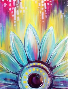 Whimsical Daisy at Bertucci's (Foggy Bottom DC) - Paint Nite Events near Washington, DC>