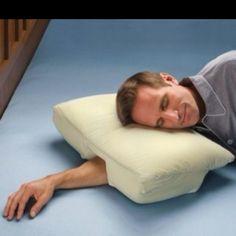 I need this! I sleep like this all the time.