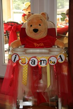 Ingrid Rhodes Styled Events: Winnie the Pooh 1st Birthday