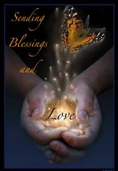 Sending sunday love and blessings,