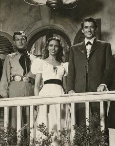 "Joseph Cotten,Jennifer Jones andGregory Peck- ""Duel in the Sun"" (1946)"