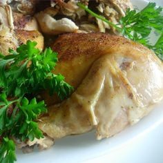 "Baked Slow Cooker Chicken I ""Great and so easy. Very moist, even the white meat. I added a few more of my favorite spices. We loved it. I am eager to fix it again."""