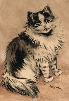 The cat who got the cream | Louis Wain: