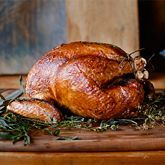 Cider-Brined Turkey with Herb Butter | Williams-Sonoma