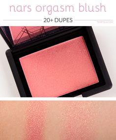 20+ Dupes for NARS Orgasm Blush