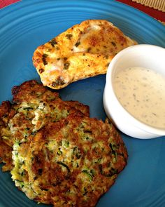 Low Carb Zucchini-Onion Pancakes