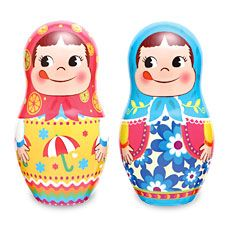 Cake Pastry | | Fujiya Matryoshka dolls can of early summer