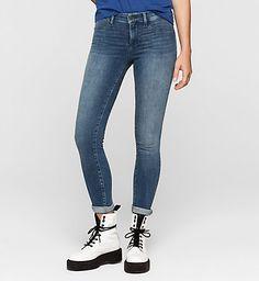 Mid Rise Super Skinny Jeans Women | Calvin Klein® Europe