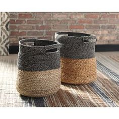 Best Wicker Baskets and Rattan Baskets! Find beautiful wicker baskets for your home that you can use for laundry, toys, plants, and more. Plastic Baskets, Metal Baskets, Baskets On Wall, Fabric Storage Bins, Fabric Bins, Storage Baskets, Storage Boxes, Kitchen Canister Sets, Etagere Bookcase