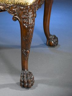 Ornate Carved Bear Lion Claw Foot Table Amp Legs 1800 S Must