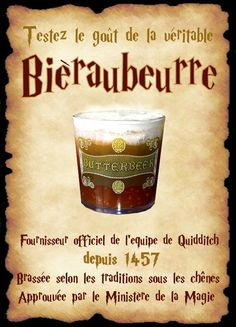 affiche bièraubeurre                                                                                                                                                                                 Plus Magie Harry Potter, Objet Harry Potter, Décoration Harry Potter, Classe Harry Potter, Harry Potter Halloween, Harry Potter Birthday, Harry Potter Bricolage, Potter School, Harry Potter Classroom