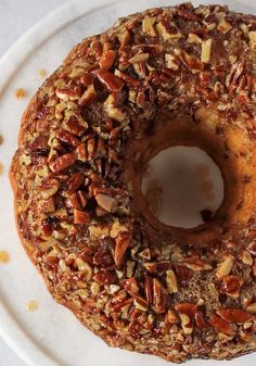 Box Cake Recipes, Apple Cake Recipes, Pecan Recipes, Sweet Recipes, Cooking Recipes, Dessert Recipes, Dessert Ideas, Cake Ideas, Pecan Pie Bundt Cake Recipe