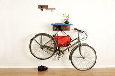 Indoor Bike Storage Ideas for Mixte and Step-Thru Bike Frames