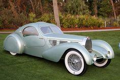 1935 Bugatti T57 Aerolithe Coupe