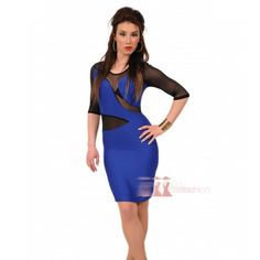 Midi μπλέ φόρεμα με δαντέλα http://pgfashion.gr/index.php?route=product/product&path=61&product_id=323