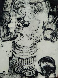 'Kiratamurti' Teyyam conducted from Elamkur Arayan Veettil at Thayyil, Kannur in 1950. That house abuts ancestral home of Sir M.C. Koman.