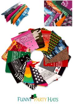• Features 15 assorted styles and colors, these comfortable bandanas are versatile and easy to wear as headbands, headwraps, or any other creative way. • Great for children, adults, and teens, this bandana pack will cater to you and your friends and family members with its high-quality throughout, but variety of options to choose from. • These hair accessories are perfect choices for casual wear, western themed events, costume, or everyday easy fashion. Best Kids Costumes, Holiday Costumes, Cool Costumes, Party Costumes, Bandana Colors, Bandana Scarf, Party Favors For Adults, Kid Party Favors, Carnival Themed Party