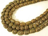 beads.de .:: Original afrikanischer Schmuck, Masken, Kunst- und Gebrauchsgegenstände ::.: D15-D17 Messingperlen Ashanti Ghana