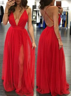 simple red prom dresses, backless long party dresses, cheap backless evening gowns
