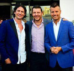 MKR Sydney launch Suit Jacket, Product Launch, Australia, Seasons, Chefs, Cake Ideas, Sydney, Jackets, Tv