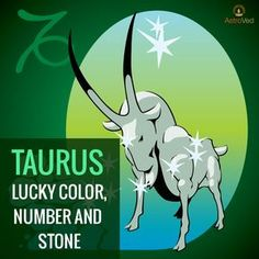 Dear Taureans! Know your lucky color, number & stone with AstroVed's article exclusive for your Moon sign! https://www.astroved.com/articles/lucky-color-number-and-stone-for-taurus-sign