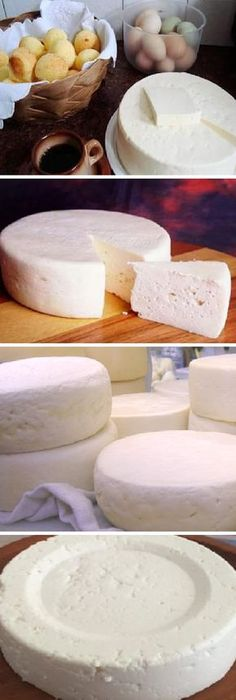 If you have 1 liter of milk, yogurt and 1 half a lemon, you can prepare THE BEST cheese! If you like let us your HELLO and give me your liked LOOK… Easy Cooking, Cooking Time, Cooking Recipes, Queso Cheese, Salty Foods, Homemade Cheese, Food Decoration, Cheese Recipes, Mexican Food Recipes
