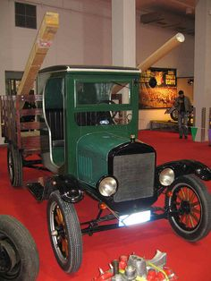 1908 T model truck