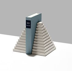 London designer Klemens Schillinger modelled these concrete tabletop accessories on the shapes of ancient Greek and Mayan architecture
