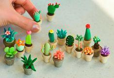 120 easy to try diy polymer clay fairy garden ideas (77)