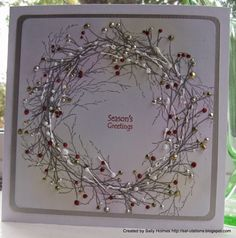 Crafty Salutations: The last Rudolf day for Company Christmas Cards, Christmas Cards 2018, Stamped Christmas Cards, Xmas Cards, Holiday Cards, Christmas Greetings, Handmade Christmas Crafts, Christmas Card Crafts, Homemade Christmas Cards