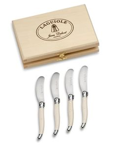 Laguiole Spreaders, Ivory