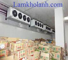 Cung cấp lắp đặt kho lạnh bảo quản sữa
