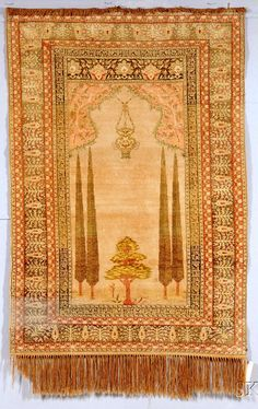 Anatolian Prayer Rug, late 19th century, (area of wear in border), 6 ft. x 4 ft. 2 in.