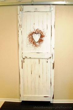 Bring a little bit of the rustic look home - How to Create a Sliding Barn Door