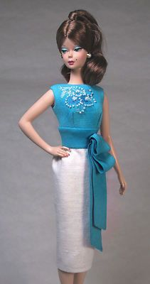 Cocktail Time - Silkstone Barbie Vintage Barbie Doll Fashion Dress Clothing