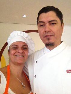Carla Falconi com o  Checho Gonzales www.carlafalconi.com.br