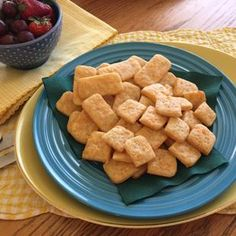 Making homemade baked cheese crackers | Deseret News