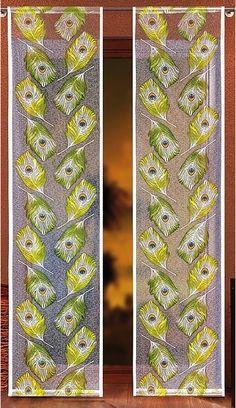 #Panel_pawie_pióro Piękny panel z kolorowym motywem pawiego pióra, które jest szczytem elegancji.   Wymiary: Szerokość - 55 cm Wysokość- dowolna ( panel w sprzedaży na metry bieżące, cena dotyczy 1 mb czyli 55 cm/1m)  Zdjęcie prezentuję zawieszone obok siebie dwa panele.  kasandra.com.pl