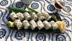 Sushi Rolls | Sara Moulton Chef Recipes, Seafood Recipes, Asian Recipes, Soup Recipes, Cooking Recipes, Healthy Recipes, Ethnic Recipes, Rice Cooker Recipes, Sushi Rolls