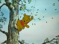 We make no secret of it—we're basically obsessed with Winnie the Pooh and his pals from the Hundred Acre Wood. Cartoon Crazy, Cartoon Pics, Winnie The Pooh Friends, Disney Winnie The Pooh, Pooh Bear, Tigger, Plan Bee, Hundred Acre Woods, Disney Movies