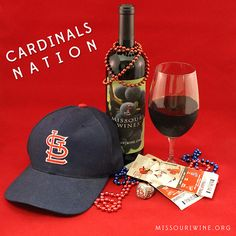 #CardinalsNation and Missouri Wine - A perfect pairing!
