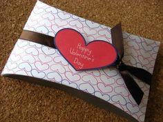San Valentín: cajas de regalo y tarjetas para imprimir